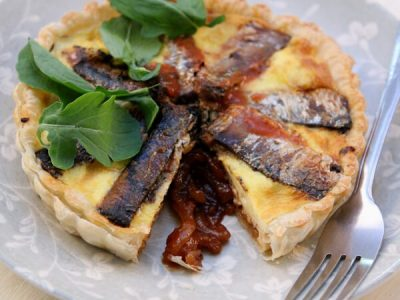 Lucky Star Pilchard Quiche
