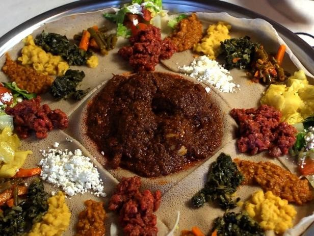 AFDB Food Cuisine Ethiopian Injera - AFDB Food Cuisine