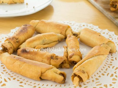 Recipe for the weekend is Nigerian Fish Roll