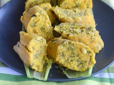 koki corn( African fresh corn tamales)